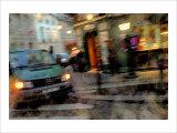 Sharp Turn Corner, France Giclee Print by Nicolas Hugo