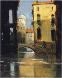 Sunday Morning, Venice Giclée-tryk af Ted Goerschner