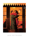 Back Where You Belong Poster by Jack Vettriano
