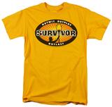 Survivor - Gold Burst T-shirts