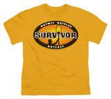 Youth: Survivor - Gold Burst T-shirts