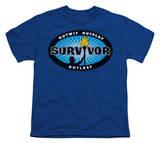 Youth: Survivor - Blue Burst T-shirts