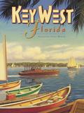 Key West Florida Giclée-tryk af Kerne Erickson