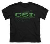 Youth: CSI - Sketchy Shadow T-shirts