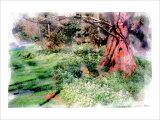 Under the Tree Giclee Print by Nicolas Hugo
