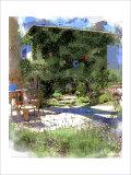 Summer Garden, Venice Beach, California Giclee Print by Nicolas Hugo