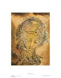 Raphaelesque Head Exploded Reproduction procédé giclée par Salvador Dalí
