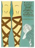 Twelfth Night: Greatness Poster von Christopher Rice