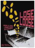 Grasping Grammar: Lose Loose Kunstdrucke von Christopher Rice