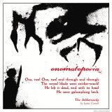Literary Techniques: Onomatopoeia Affiches par Jeanne Stevenson