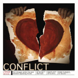 Literary Devices: Conflict Poster von Jeanne Stevenson