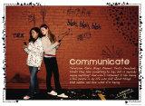 Communicate Poster von Jeanne Stevenson