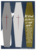 Merchant of Venice: All That Glisters Poster von Christopher Rice