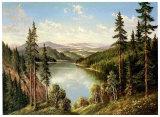 High Mountain Lake Posters af Helmut Glassl