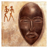 African Mask Poster von A. Vargas