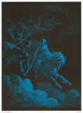 Death Rides a Pale Horse Plakater