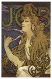 Job Poster von Alphonse Mucha