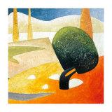 A Gust of Wind II Kunstdrucke von Marko Viridis