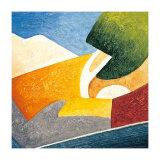 A Gust of Wind IV Kunstdrucke von Marko Viridis