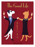The Good Life Reproduction giclée Premium par Ken Bailey