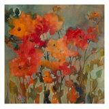 Orange Flower Giclée-Premiumdruck von Michelle Abrams