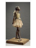 Petite danseuse de 14 ans ou Grande danseuse habillée Giclee-trykk av Edgar Degas