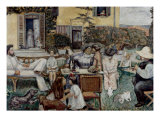 The Terrasse Family, 1900 Lámina giclée por Pierre Bonnard