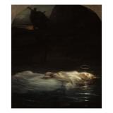 La jeune martyre Lámina giclée por Paul Delaroche