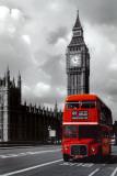 Ônibus vermelho, Londres  Posters