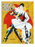 Nuevo Mundo, Magazine Cover, Spain, 1927 Giclée-tryk