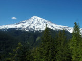 View of Mount Rainier in Washington State, Mount Rainier National Park, Washington Impressão fotográfica por Darlyne A. Murawski