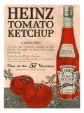 Heinz, Magazine Advertisement, USA, 1910 Giclée-tryk