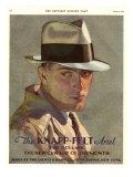 Knapp-Felt, Magazine Advertisement, USA, 1930 ジクレープリント