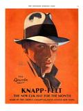 Knapp-Felt, Magazine Advertisement, USA, 1920 Giclee Print
