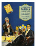 Fatima, Magazine Advertisement, Spain, 1930 Giclee Print