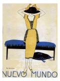 Nuevo Mundo, Magazine Cover, Spain, 1920 Giclee-trykk
