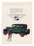 Buick, Magazine Advertisement, USA, 1927 Giclée-Druck