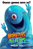 Monsters vs. Aliens Plakat