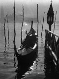 Gondola in the Lagoon, in Venice Photographic Print by A. Villani