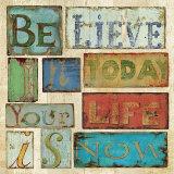 Believe and Hope I Plakater av Daphne Brissonnet