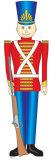 Toy Soldier Cardboard Cutouts