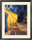 The Cafe Terrace on the Place du Forum, Arles, at Night, c.1888 Posters by Vincent van Gogh
