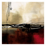 Symphony in Red and Khaki I Premium Giclée-tryk af Laurie Maitland