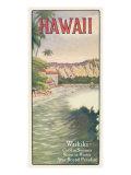 Waikiki Reproduction giclée Premium