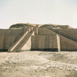 Ziggurat in Sumerian City Dating from around 4500-400Bc, Ur, Iraq, Middle East Photographic Print by Richard Ashworth