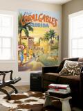 """Erickson """"Coral Gables"""" Poster géant"""