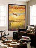 Western Air Express, San Francisco, Kalifornia Seinämaalaus