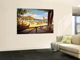 Aloha Havaiji Seinämaalaus