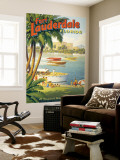 "Erickson ""Fort Lauderdale"" Poster géant"