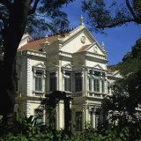 Colonial House, Mahatma Gandhi Road, Bangalore, Karnataka State, India Fotografisk trykk av Rolf Richardson